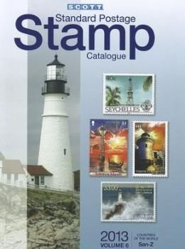 Cover: Scott Standard Postage Stamp Catalogue