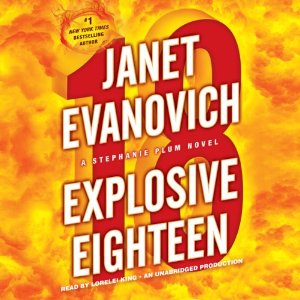 Cover: Explosive Eighteen by Janet Evanovich