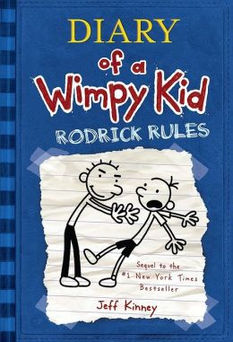 Cover: Diary of a Wimpy Kid: Rodrick Rules by Jeff Kinney