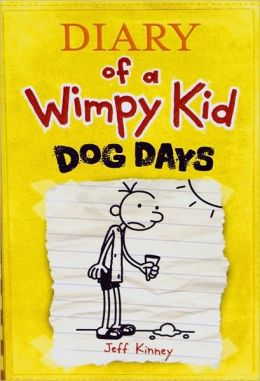 Cover: Diary of a Wimpy Kid: Dog Days by Jeff Kinney