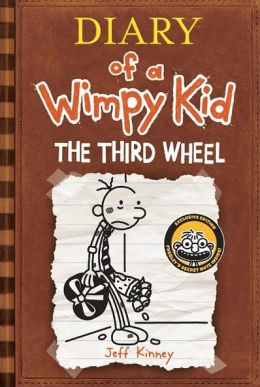 Cover: Diary of a Wimpy Kid: The Third Wheel by Jeff Kinney