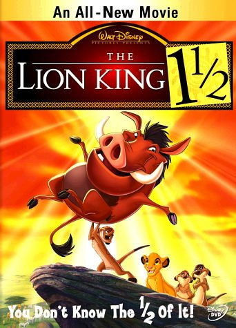 Cover: The Lion King 1 1/2