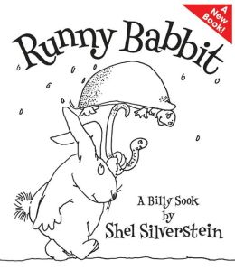 Cover: Runny Babbit: a Billy Sook by Shel Silverstein