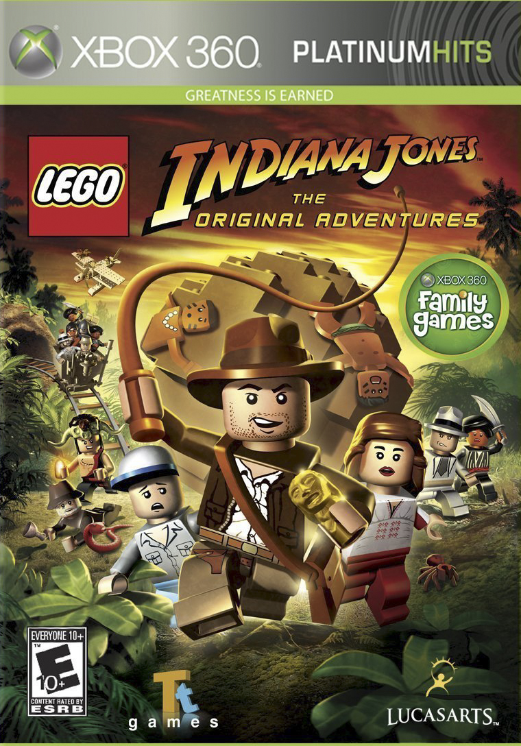Cover: Lego Indiana Jones: The Original Adventures