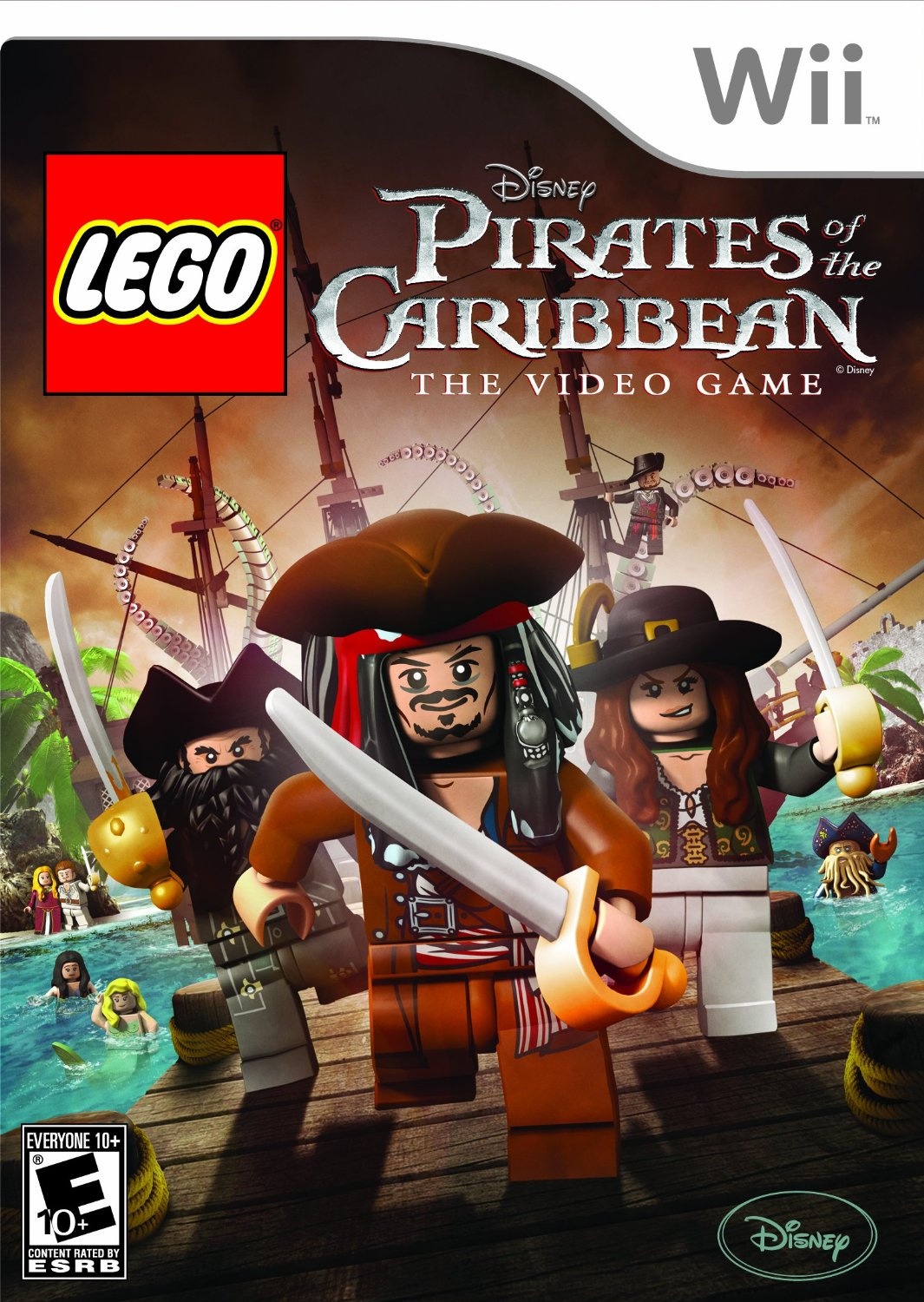 Cover: LEGO Pirates of the Carribean