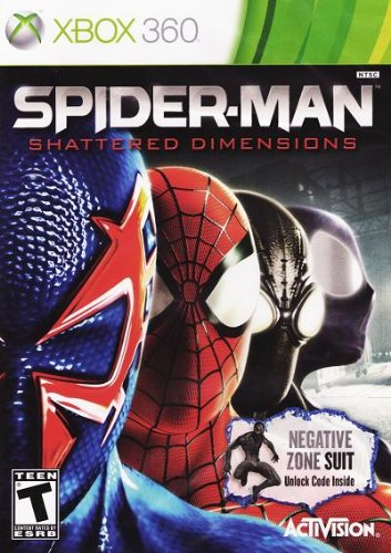 Cover: Spider-Man: Shattered Dimensions