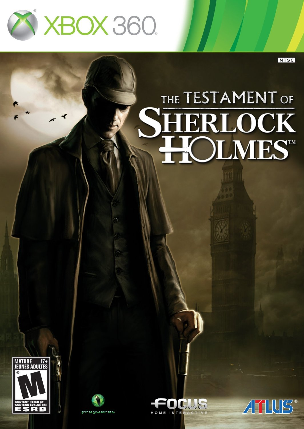 Cover: The Testament of Sherlock Holmes