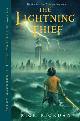 Cover: The Lightening Thief by Rick Riordan