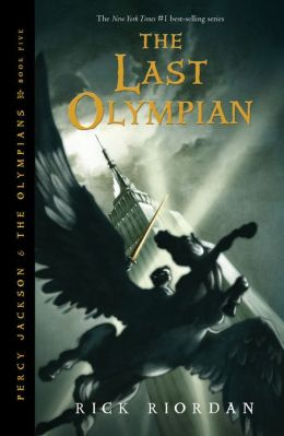 Cover: The Last Olympian by Rick Riordan