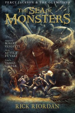 Cover: The Sea of Monsters by Rick Riordan