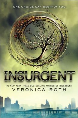 Cover:  Insurgent by Veronica Roth