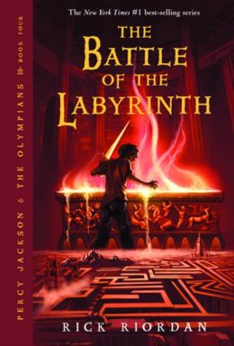 Cover: The Battle of the Labyrinth by Rick Riordan
