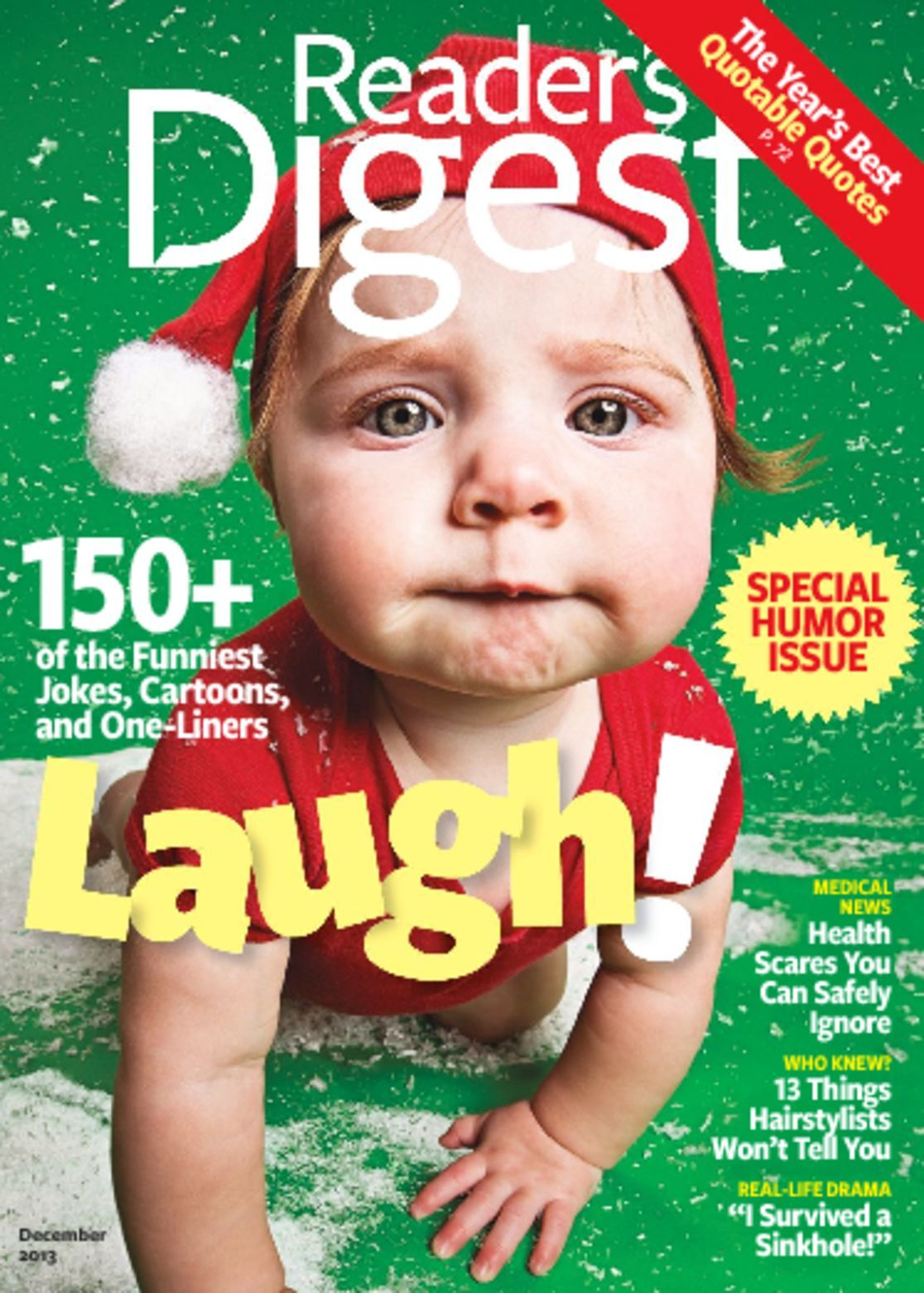 Cover: Reader's Digest
