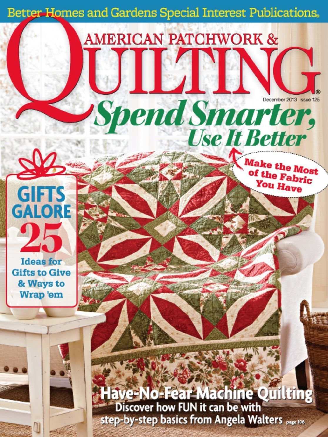 Cover: American Patchwork & Quilting