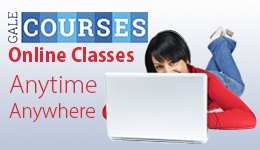 Gale Courses: Online Classes. Anytime. Anywhere.