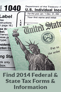 Find 2014 Federal & State Tax Information