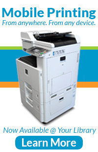Learn More About Mobile Printing, Now Available @ Your Library!