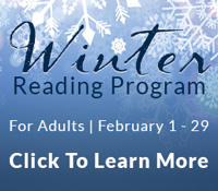 VCPL Winter Reading for Adults: February 1 to 29