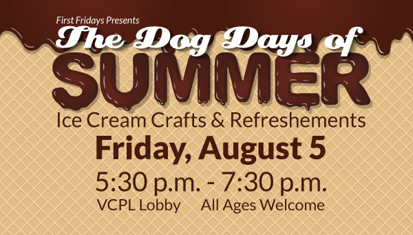 Melting Chocolate over Wafer with Dog Days of Summer Information
