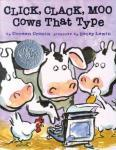 Cover: Click, Clack, Moo: Cows That Type by Doreen Cronin