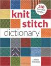 cover of knit stitch dictionary