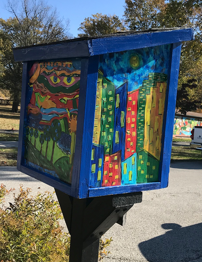 Little Free Library at Deming Park