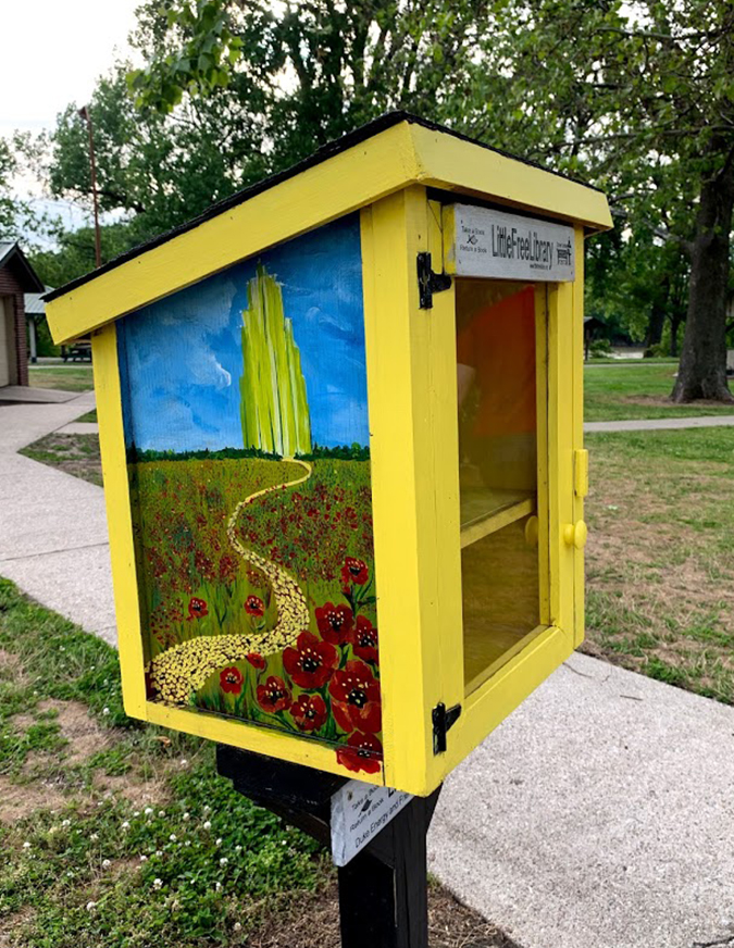 Little Free Library at Fairbanks Park