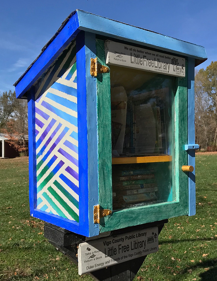 Little Free Library at Fowler Park