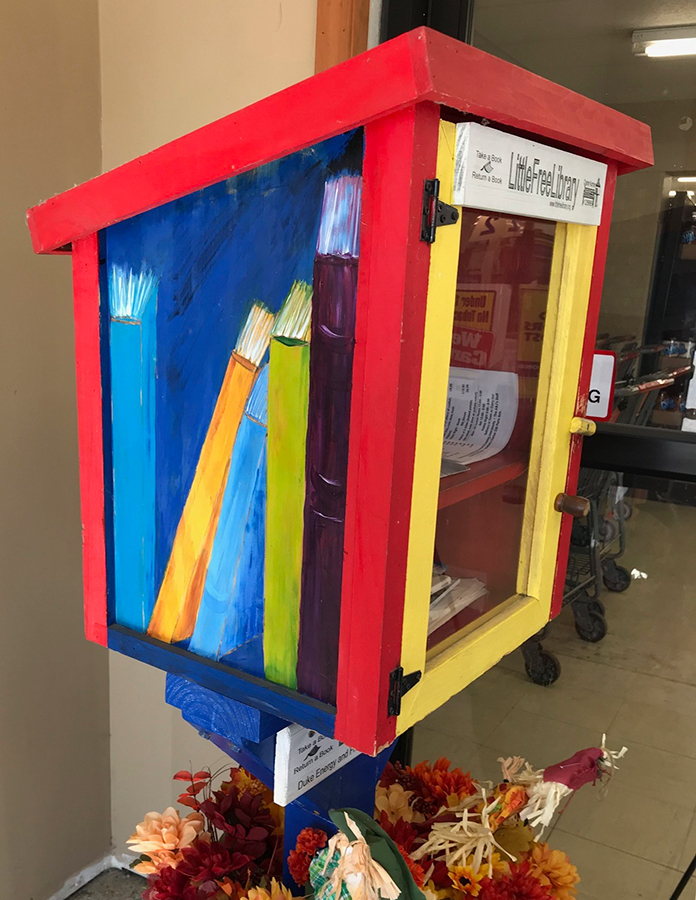Little Free Library at West Terre Haute IGA