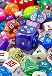Colorful Gaming Dice