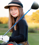 Young Girl with Golf Club