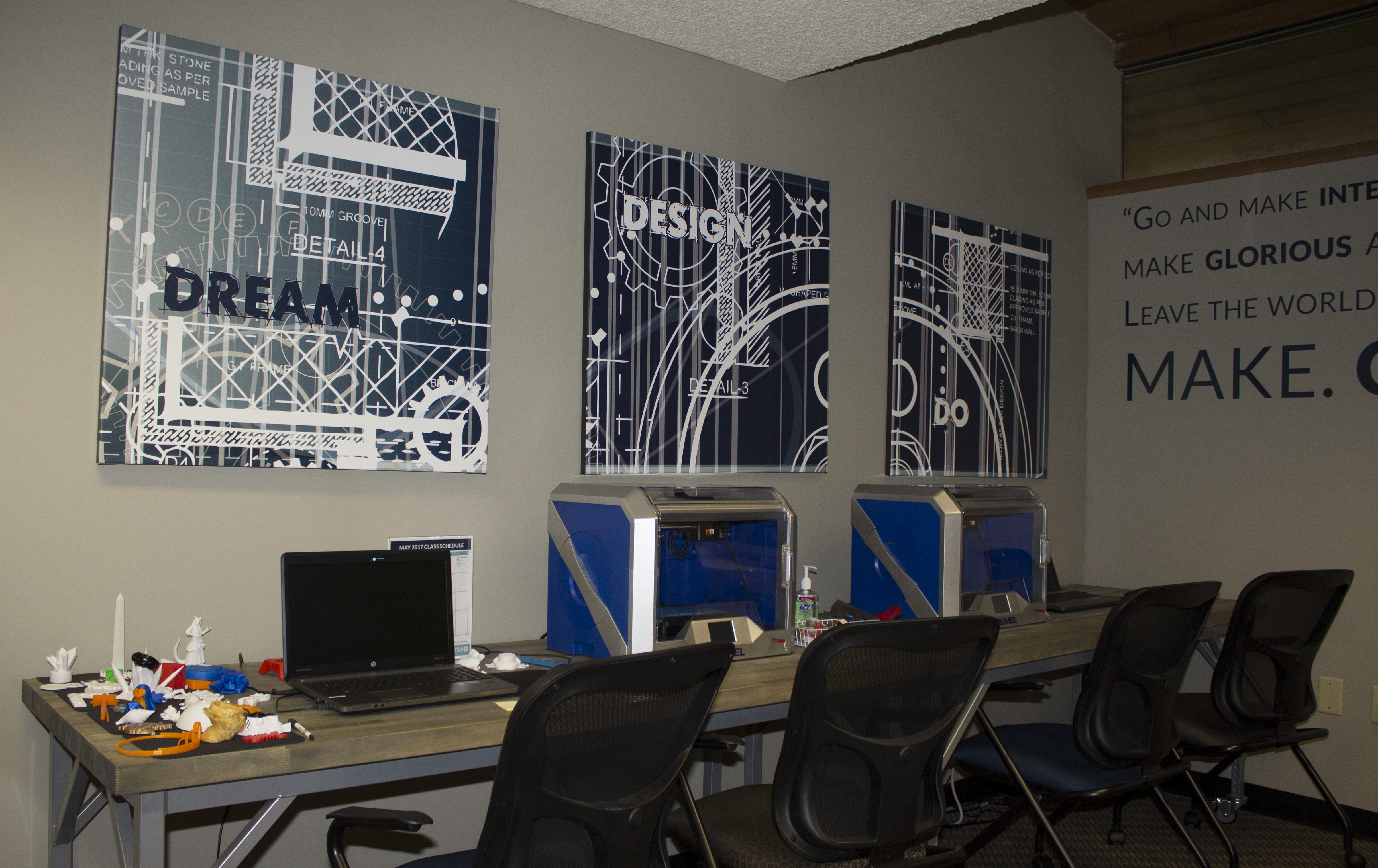 Haute Create Is Located Within The Main Library