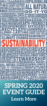 Sustainability @ your Library: Spring 2020 Event Guide