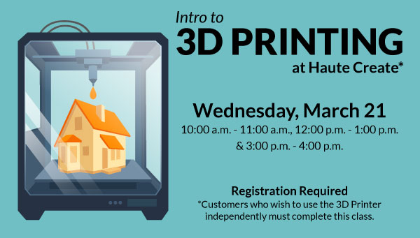 3D Printer Printing House with Into to 3D Printing Information