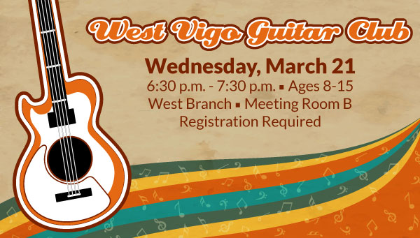 Acoustic Guitar with West Vigo Guitar Club Information