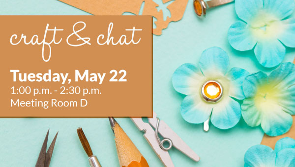 Paper Flowers with Craft & Chat Information