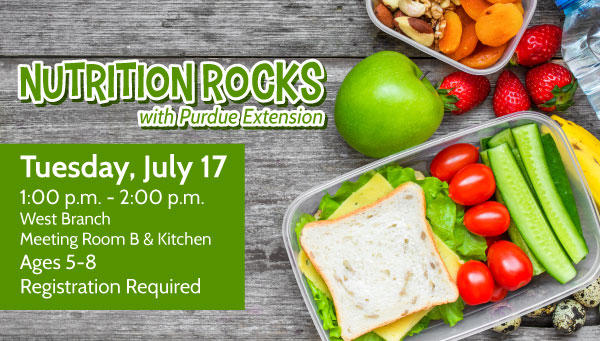 A Healthy Lunch with Nutrition Rocks Information