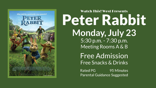 Poster: Peter Rabbit with Watch This! West Information