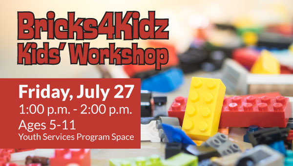 Colorful Plastic Bricks with Bricks 4 Kidz Kids' Workshop Information