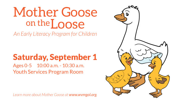 Goose with Two Goslings with Mother Goose on the Loose Information