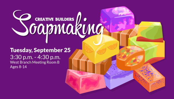 Colorful Handmade Soap with Creative Builders Information
