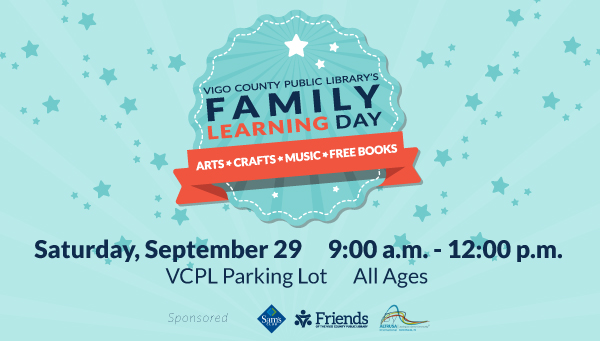 Family Learning Day Logo with Family Learning Day Information