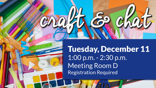 Craft Supplies with Craft & Chat Information