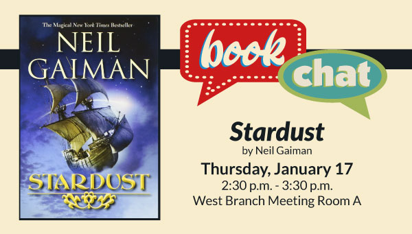 Cover: Stardust by Gaiman with Book Chat Information