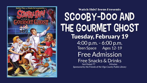 Poster: Scooby-Doo and the Ghoulish Gourmet with Watch This! Teens Information
