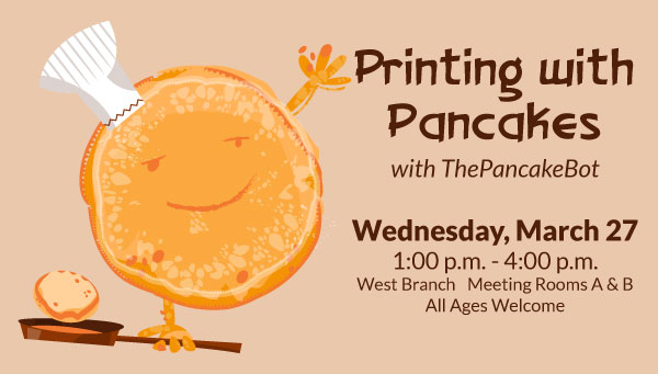 Pancake with Skillet with Printing with Pancakes Information