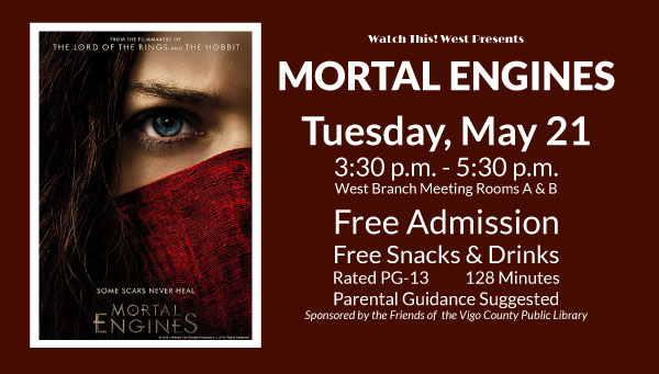 Poster: Mortal Engines with Watch This! West Information