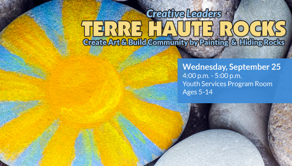 Sun Painted on a Rock with Terre Haute Rocks Information