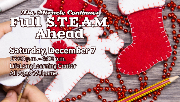 Stocking and Reindeer Felt Crafts with Red Beads with The Miracle Continues: Winter Workshop Information