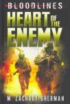 Cover: Bloodlines Heart of the Enemy by M. Zachary Sherman